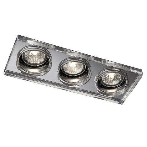 Massive 59563/11/10 - LED koupelnové podhledové svítidlo SAPPHIRE 3xLED/10W
