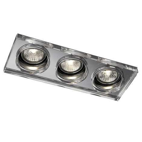 Massive 59563/11/10 - LED koupelnové podhledové svítidlo SAPPHIRE 3xLED/4W
