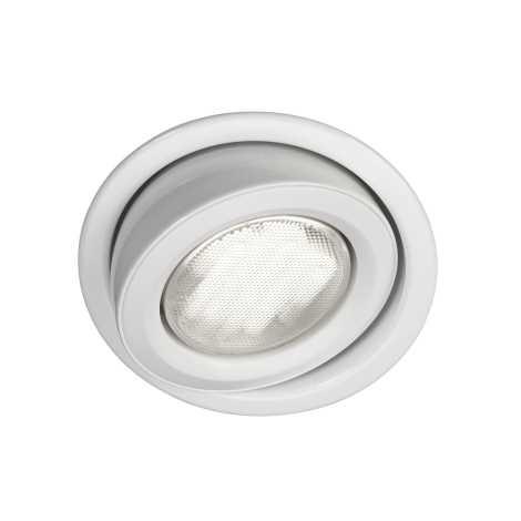 Massive 59600/31/10 - Koupelnové podhledové svítidlo MONO 1xGX53/9W/230V bílá