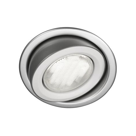 Massive 59600/48/10 - Koupelnové podhledové svítidlo MONO 1xGX53/9W/230V hliník