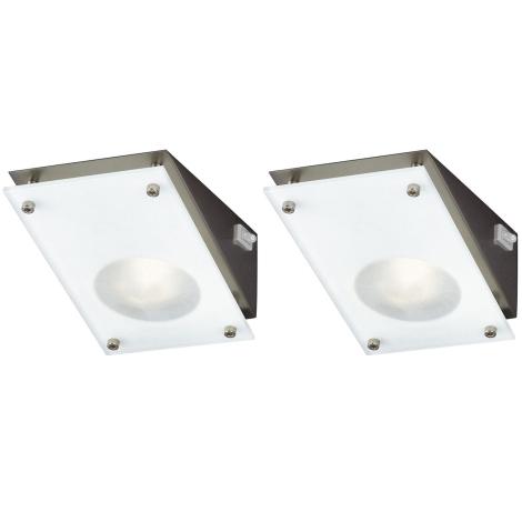 Massive 59702/17/10 - SADA 2x Podlinkové svítidlo CUCINA CHIVES 2xG4/20W/230V/12V