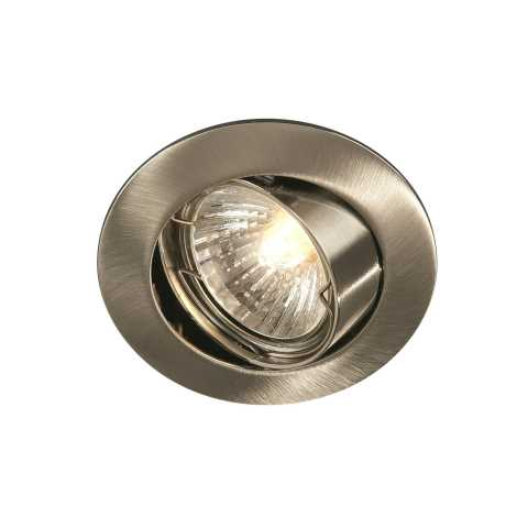 Massive 59770/17/10 - Koupelnové podhledové svítidlo TWIST 1xGU10/50W/230V