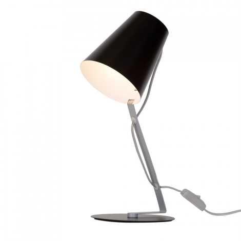Massive 66620/30/10 - Stolní lampa SKIP 1xE14/12W/230V černá