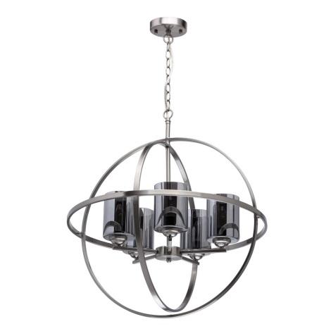 MW-LIGHT - Lustr na řetězu ALGHERO 5xE14/60W/230V
