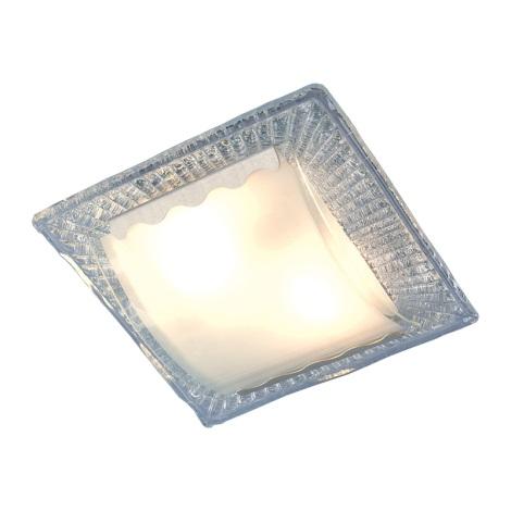 Nástěnné, stropní svítidlo BAGLIO 2xE27/40W stříbrné