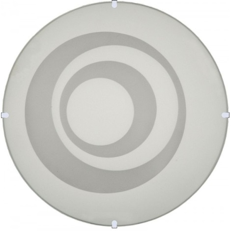 Nástěnné stropní svítidlo RINGS, 1xE27/60W