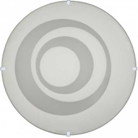 Nástěnné stropní svítidlo RINGS, 2xE27/60W