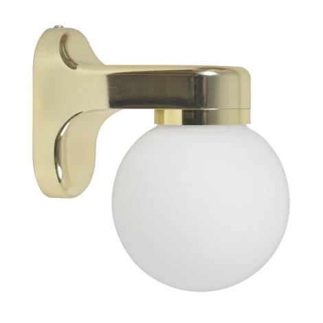 Nástěnné svítidlo 1xE14/40W/230V zlatá