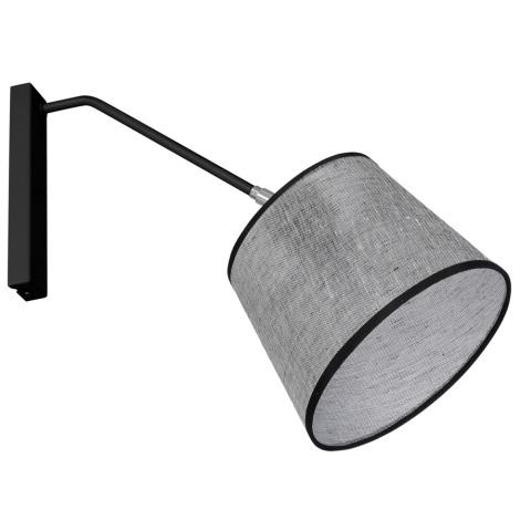Nástěnné svítidlo ASTA 1xE27/60W/230V černá
