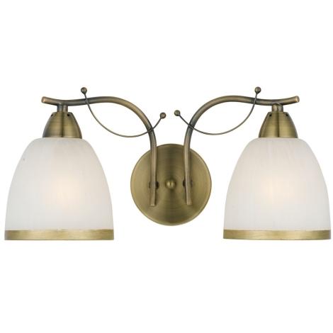 Nástěnné svítidlo BRAHAMA 5582-2AB 2xE27/60W