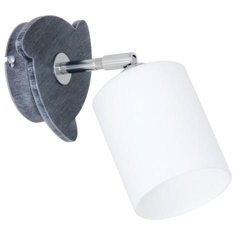 Nástěnné svítidlo CORO GREY 1xE27/60W/230V