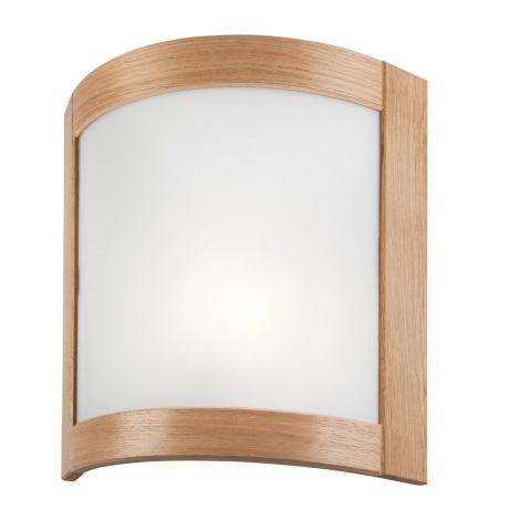 Nástěnné svítidlo ELODIE 1xE27/60W/230V dub