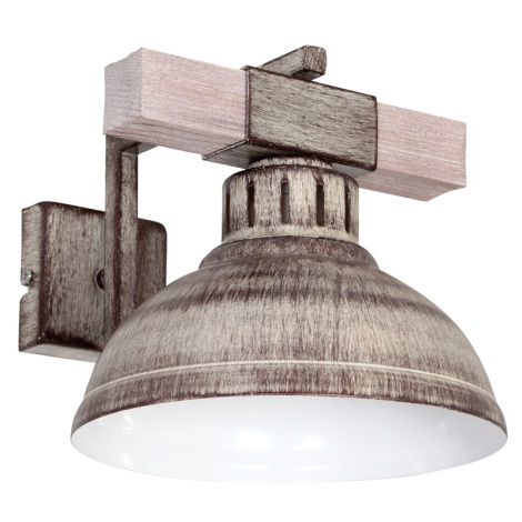 Nástěnné svítidlo HAKON 1xE27/60W/230V světlá