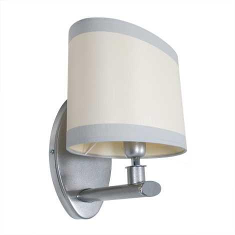 Nástěnné svítidlo IKAR IAK s 1xE14/40W stříbrná