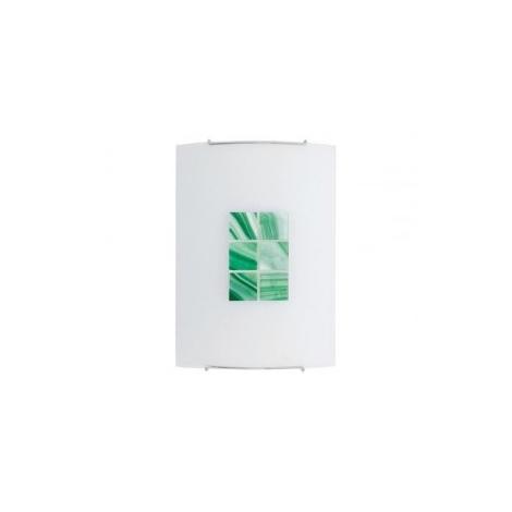 Nástěnné svítidlo KUBIK 3 GREEN 1xE27/100W