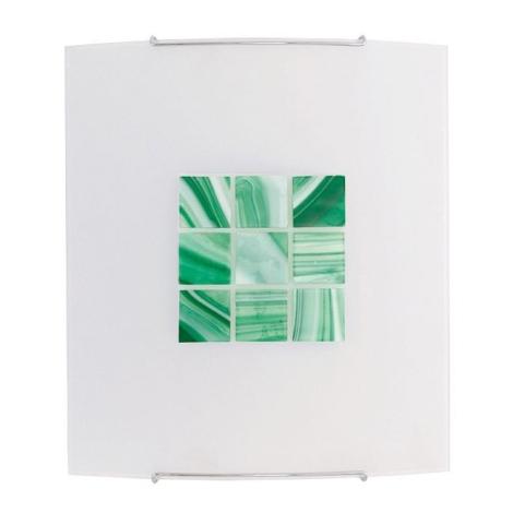 Nástěnné svítidlo KUBIK 5 GREEN 1xE27/100W
