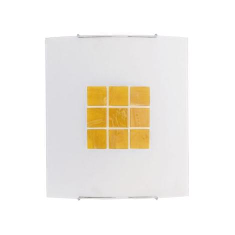 Nástěnné svítidlo KUBIK 5 YELLOW 1xE27/100W