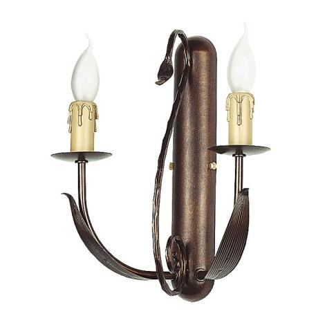 Nástěnné svítidlo LOARA 2xE14/60W/230V