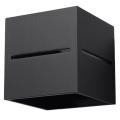 Nástěnné svítidlo LOBO 1xG9/40W/230V černá