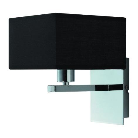 Nástěnné svítidlo MADRID 1xE14/40W/230V černá