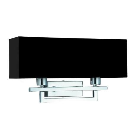 Nástěnné svítidlo MADRID 2xE14/40W/230V černá