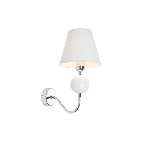 Nástěnné svítidlo NATHALIE WHITE I K - 1xE14/60W/230V