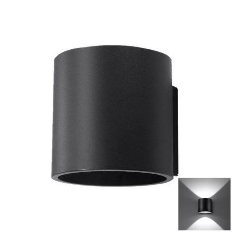 Nástěnné svítidlo ORBIS 1 1xG9/40W/230V černá
