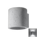 Nástěnné svítidlo ORBIS 1xG9/40W/230V beton