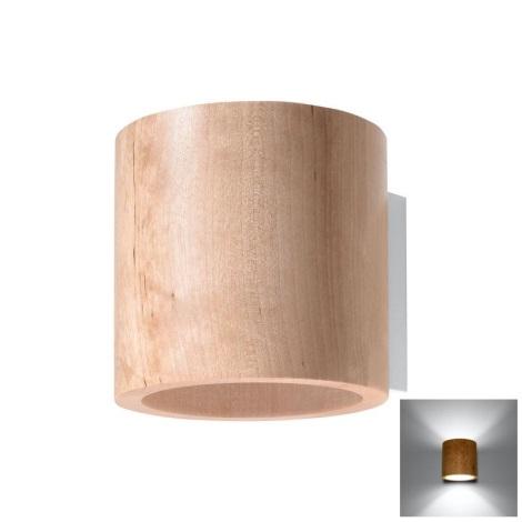 Nástěnné svítidlo ORBIS 1xG9/40W/230V dřevo