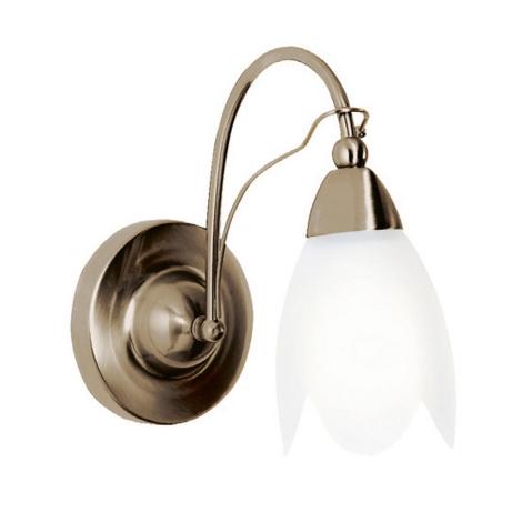 Nástěnné svítidlo PETAL A AB 1xE14/60W