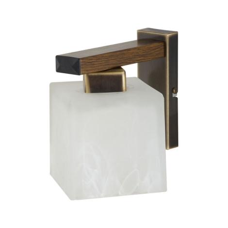 Nástěnné svítidlo POLA POK 1xE27/60W patina - zlatá