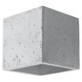 Nástěnné svítidlo QUAD 1xG9/40W/230V beton