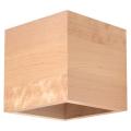 Nástěnné svítidlo QUAD 1xG9/40W/230V dřevo