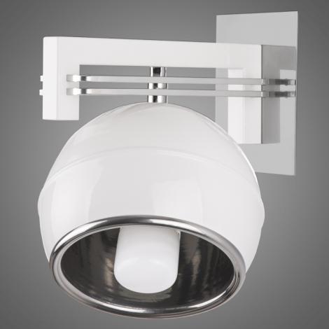 Nástěnné svítidlo QUARA SG/KU/1/W 1xE27/60W bílá