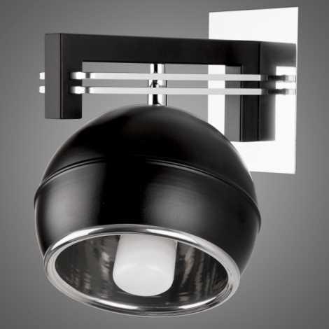 Nástěnné svítidlo QUARA SG/KU/K/BL 1xE27/60W černá