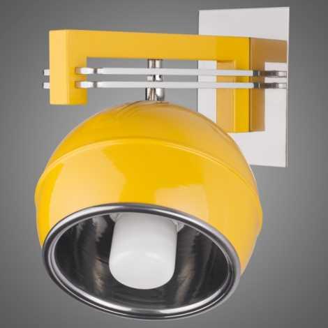 Nástěnné svítidlo QUARA SG/KU/K/Y 1xE27/60W žlutá