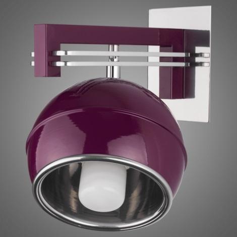 Nástěnné svítidlo QUARA SG/KU//V 1xE27/60W fialová