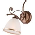 Nástěnné svítidlo RETRO II 1xE27/60W/230V bronz patina