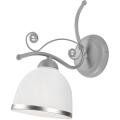 Nástěnné svítidlo RETRO II 1xE27/60W/230V stříbrná