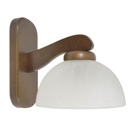 Nástěnné svítidlo TERA 1xE27/60W/230V ořech