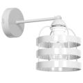 Nástěnné svítidlo TUBE 1xE27/60W/230V bílá