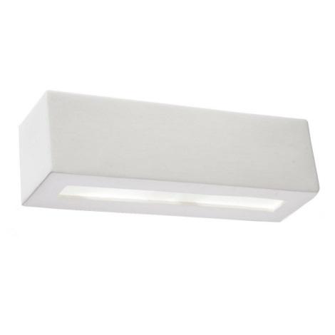 Nástěnné svítidlo VEGA 1xE27/60W/230V bílá