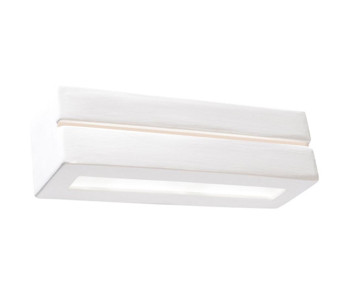 Sollux Nástěnné svítidlo VEGA LINE 1xE27/60W/230V bílá SLX0167