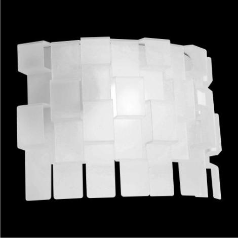 Nástěnné svítidlo Zigzag matovaná 1xE27/60W