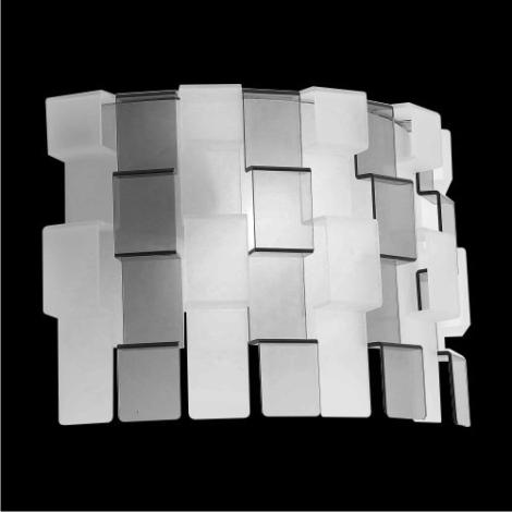 Nástěnné svítidlo Zigzag matovaná/černá 1xE27/60W