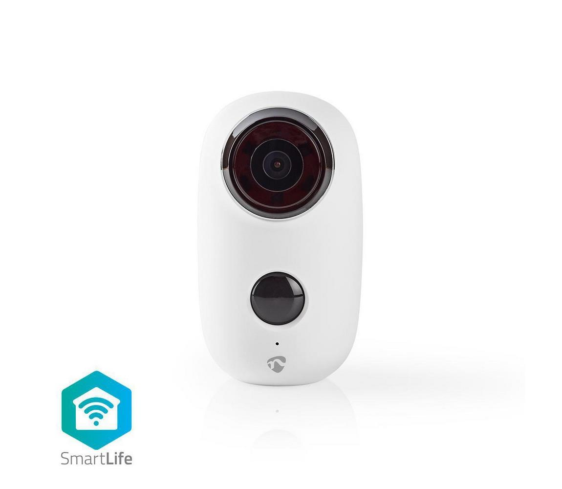 Nedis Nedis WIFICBO10WT − Venkovní dobíjecí IP kamera s PIR senzorem 5V/6000mAh/Wifi