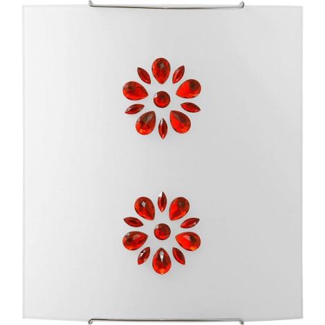 Nowodvorski 3040 - Nástěnné svítidlo KUKU 5 RED 1xE27/100W