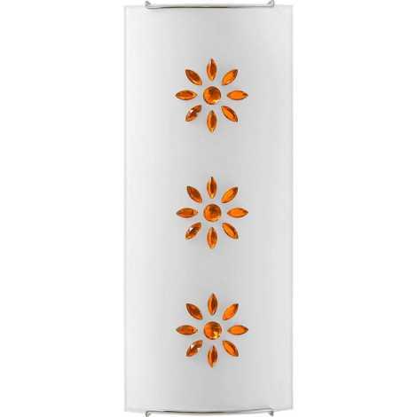 Nowodvorski 3045 - Nástěnné svítidlo KUKU 2 AMBER 2xE14/60W