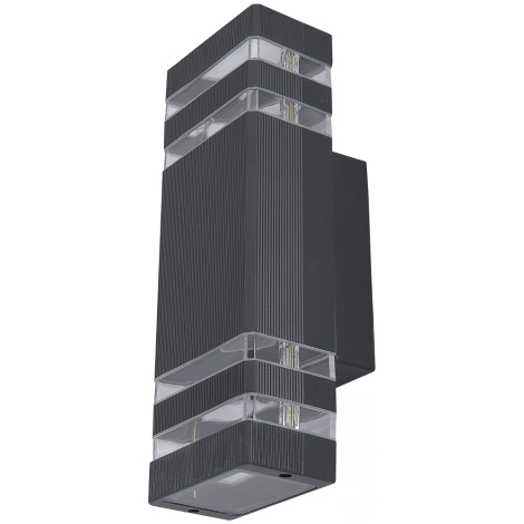 Nowodvorski 4424 - Venkovní nástěnné svítidlo RIO II 2xE27/40W/230V IP54