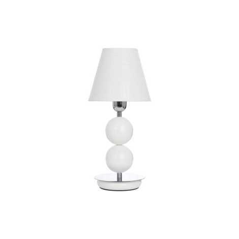 Nowodvorski 4517 - Stolní lampa NATHALIE WHITE I B - 1xE14/60W/230V
